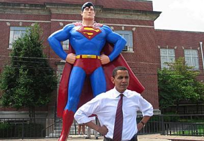 Barack Obama, el Superman esperado